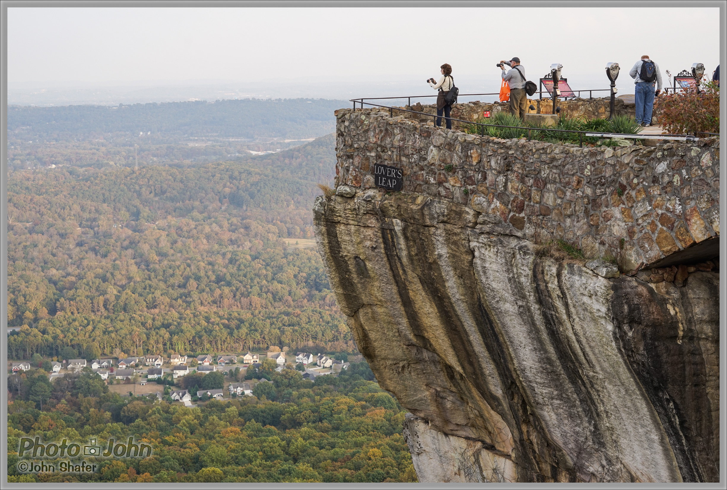 Lover's Leap - Rock City, Georgia - Sony Alpha A7R