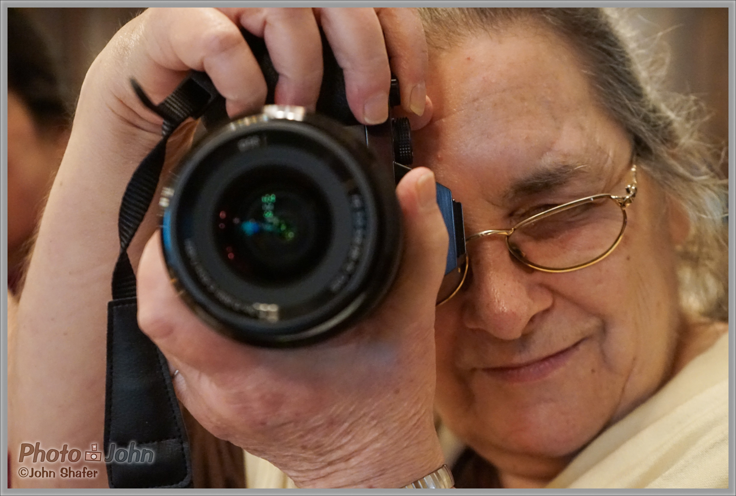 Sony Alpha A7 - ISO 6400 Portrait of Photographer Theano Nikitas