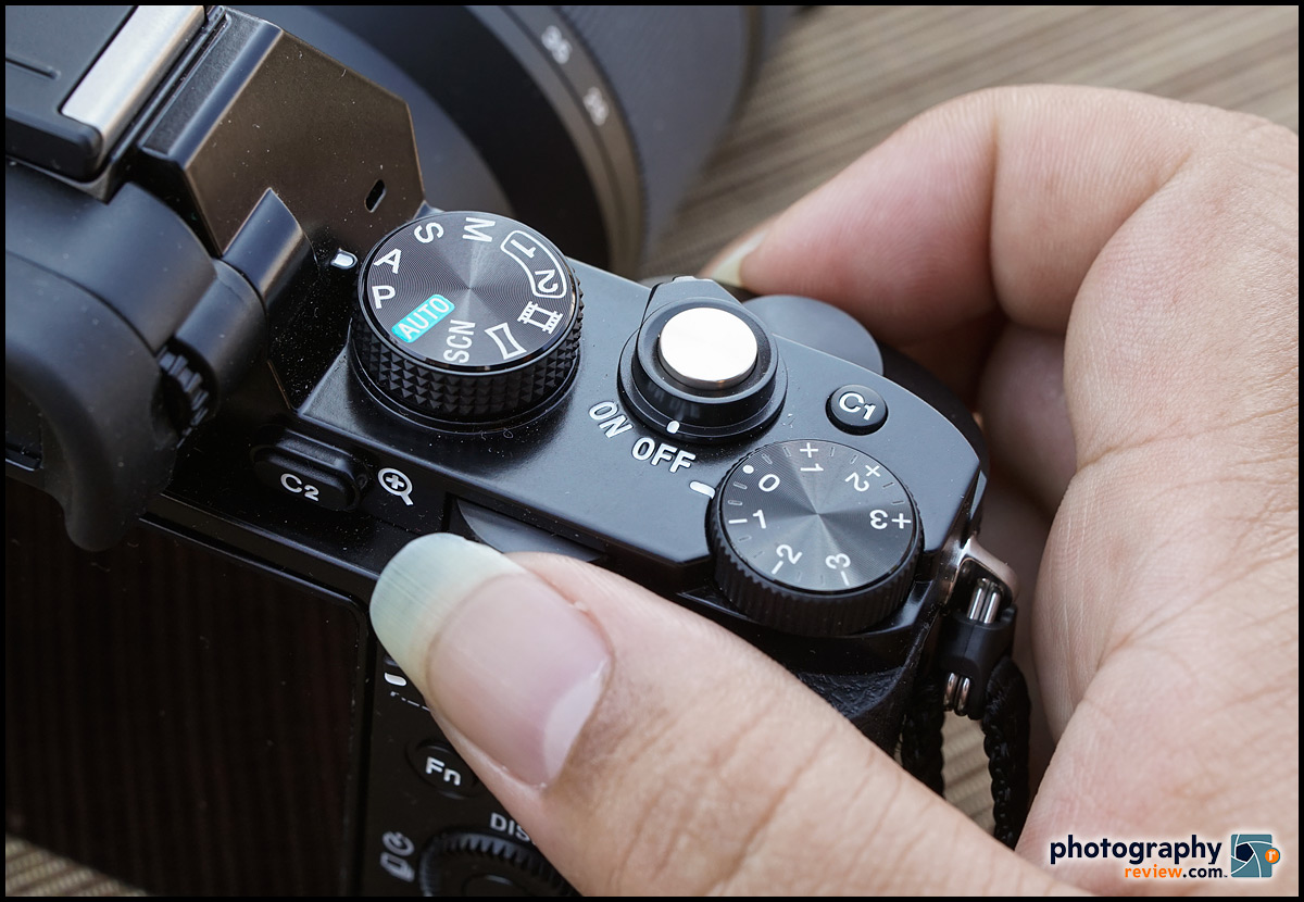 Sony Alpha A7 Mode Dial & Exposure Controls
