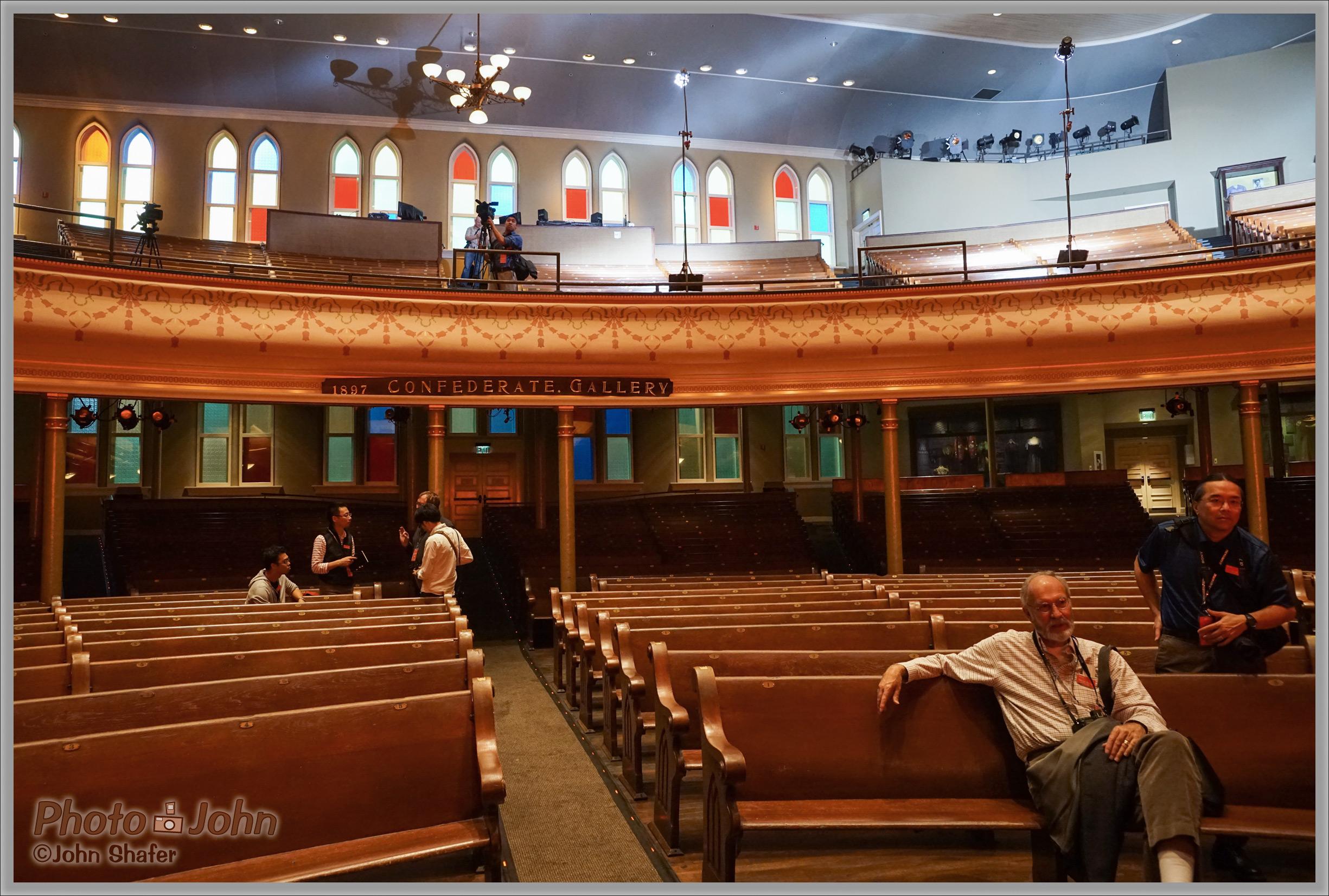 Ryman Auditorium Pews - Sony Alpha A7R