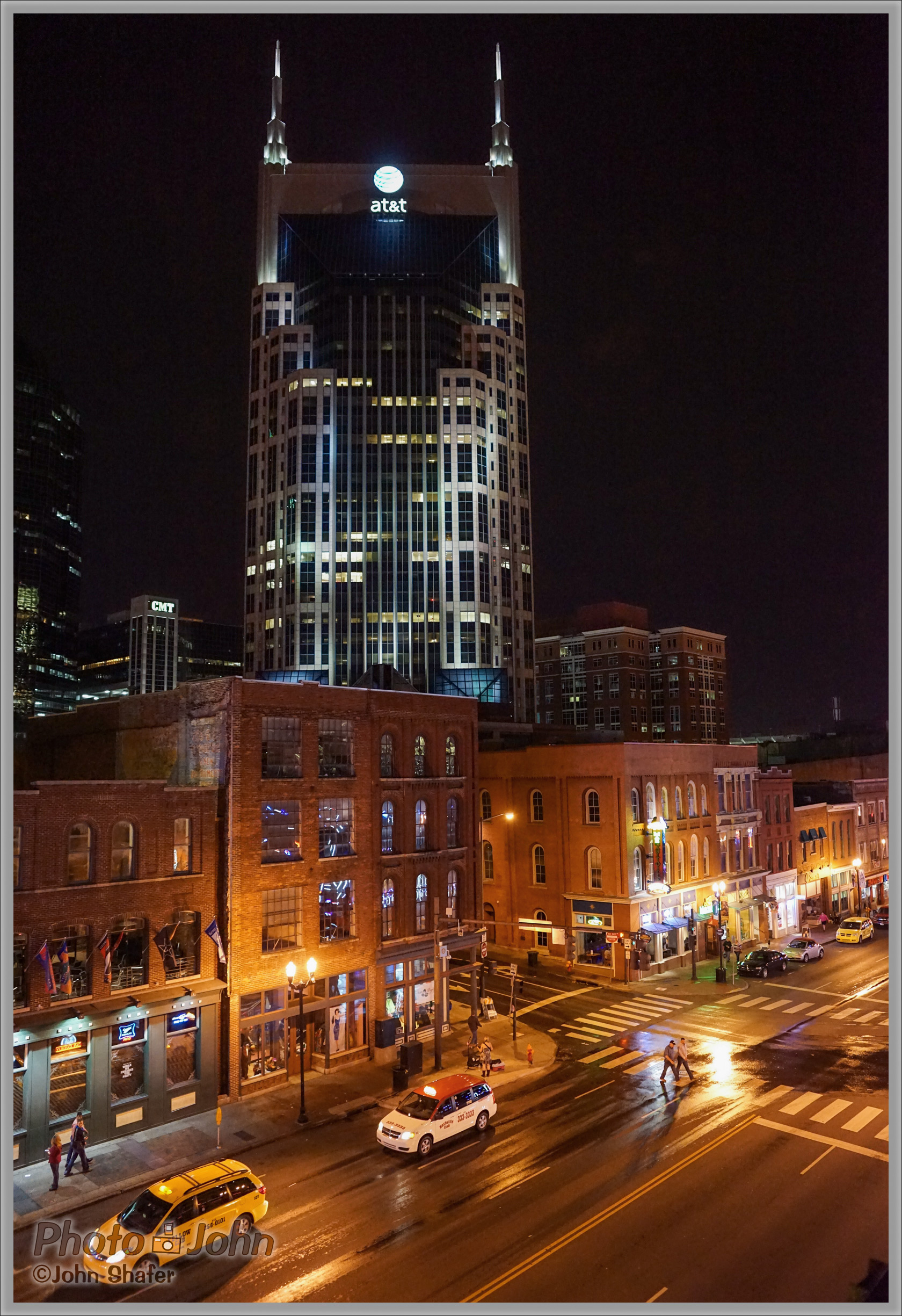 Nashville's Music Row With the AT&T Building In the Background - Sony Alpha A7R