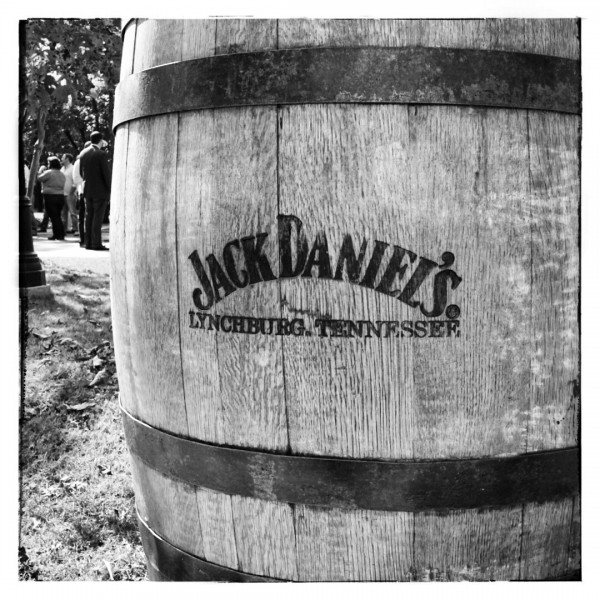 Jack Daniels Barrel - Jack Daniels Distillery - Taken With the Sony Alpha A7
