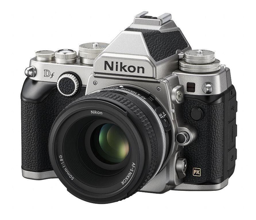 Nikon Df Full-Frame DSLR - Left Front