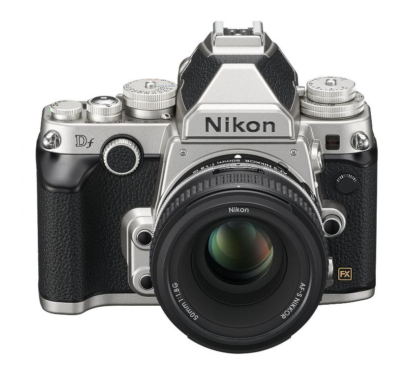Nikon Df Digital SLR - Upper Front View