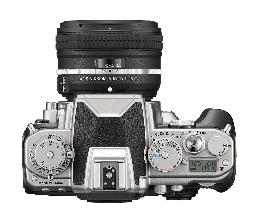 Nikon Df - Top View
