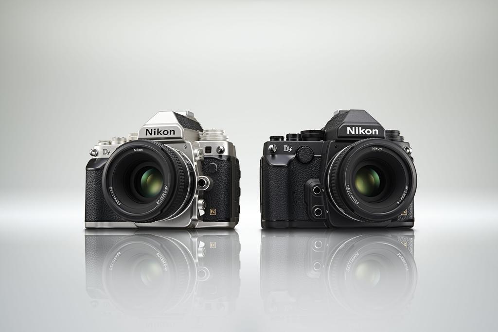 Nikon Df Full-Frame DSLR - Silver & Black