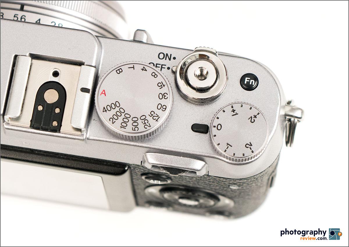 Fujifilm X100S Exposure Control Dials