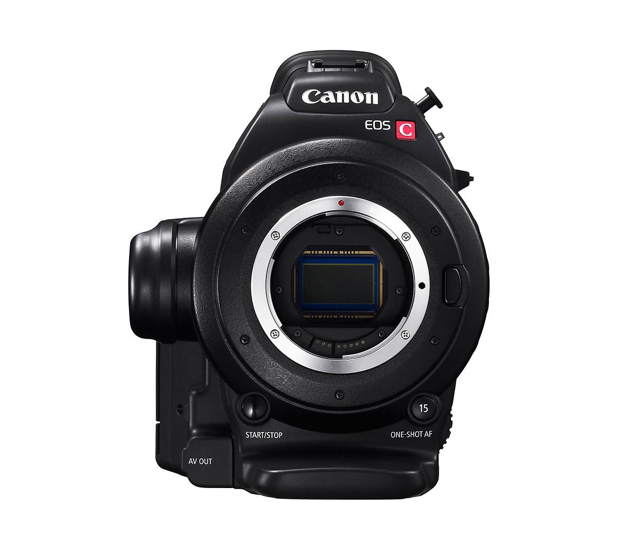 Canon C100 - Dual Pixel AF-Compatible Sensor
