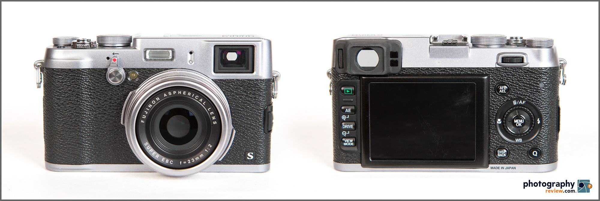 Fujifilm X100S - Front & Back Views