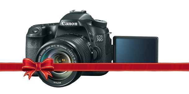 Canon EOS 70D - Holiday DSLR Guide