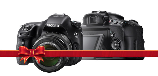 Sony Alpha A58 - Holiday DSLR Guide