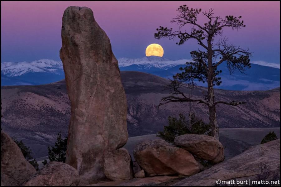 """Rising Hunter's Moon "" by mattb"