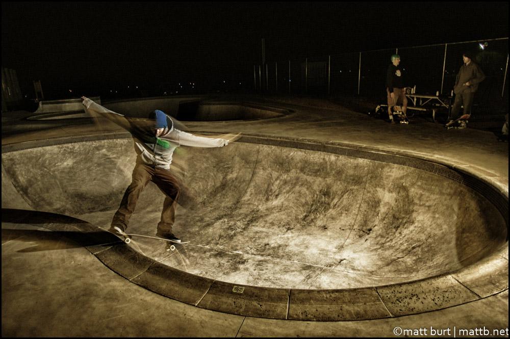 """""""Moonlight Park Skate"""" by mattb"""