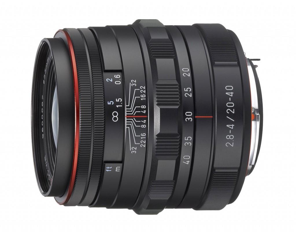 HD Pentax DA 20-40mm F2.8-4ED Limited DC WR Zoom Lens - Black
