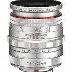Pentax DA 20-40mm F2.8-4ED Limited Zoom Lens - Silver with Hood