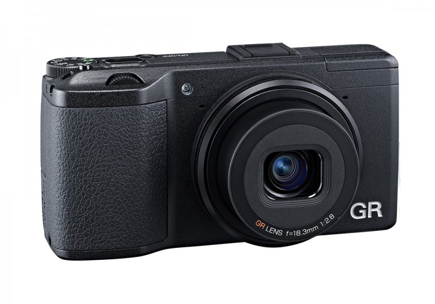 Ricoh GR Pocket Camera With f/2.8 Prime Lens
