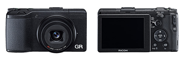 Ricoh GR APS-C Sensor Pocket Camera - Front & Back