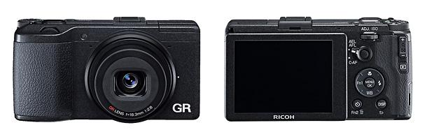 Ricoh GR APS-C Sensor Pocket Camera - Front & Back