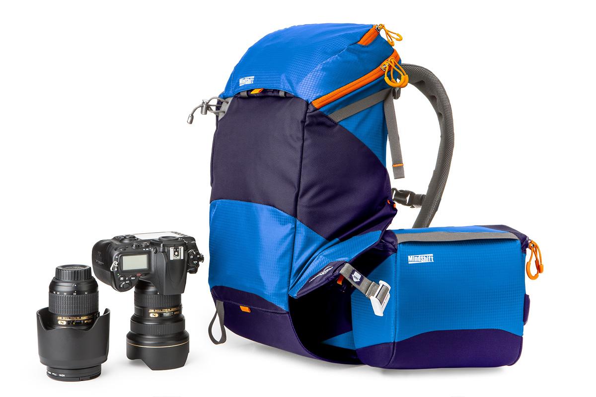 MindShift Gear rotation180° Panorama Camera Pack - Blue