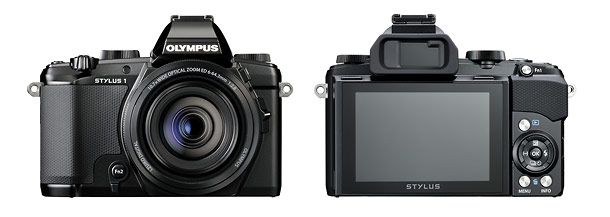 Olympus Stylus 1 - Front & Back