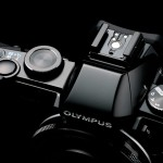 Olympus Stylus 1 - Top View With Flash Hot Shoe, Mode Dial & Control Dial