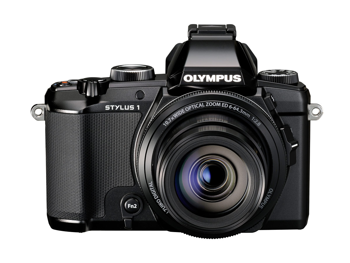 Olympus Stylus 1 - On With Lens Zoomed Wide