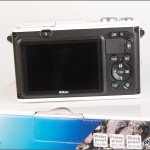 Nikon 1 AW1 Waterproof Mirrorless Camera - Rear View