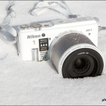 Nikon 1 AW1 Waterproof Mirrorless Camera In Snow