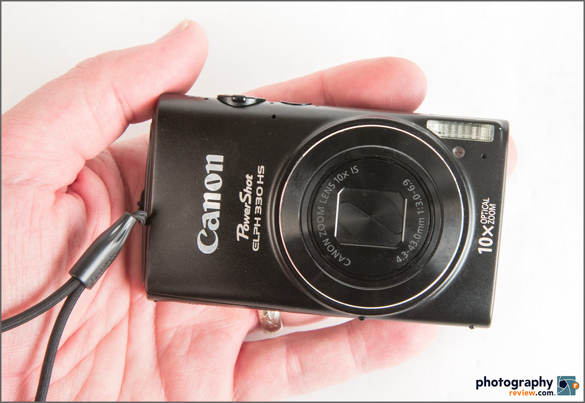 Canon PowerShot ELPH 330 HS With Wi-FI & 10x Zoom