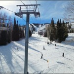 Canon PowerShot ELPH 330 HS Ski Lift Sample Photo