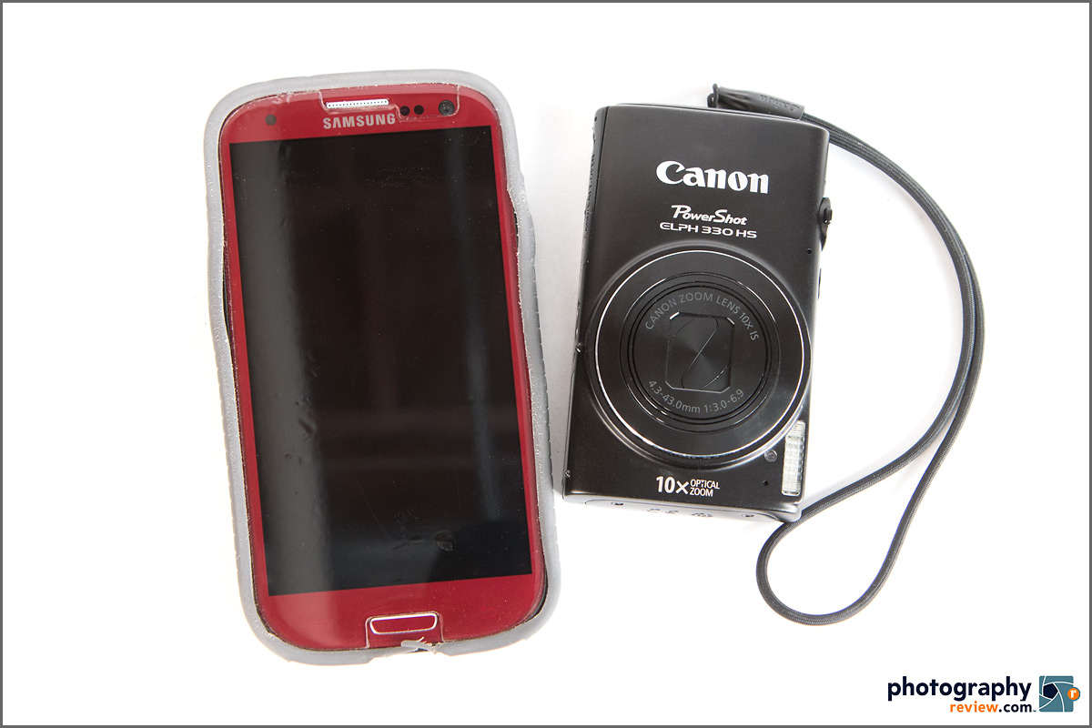Canon PowerShot ELPH 330 HS - Smaller Than A Phone