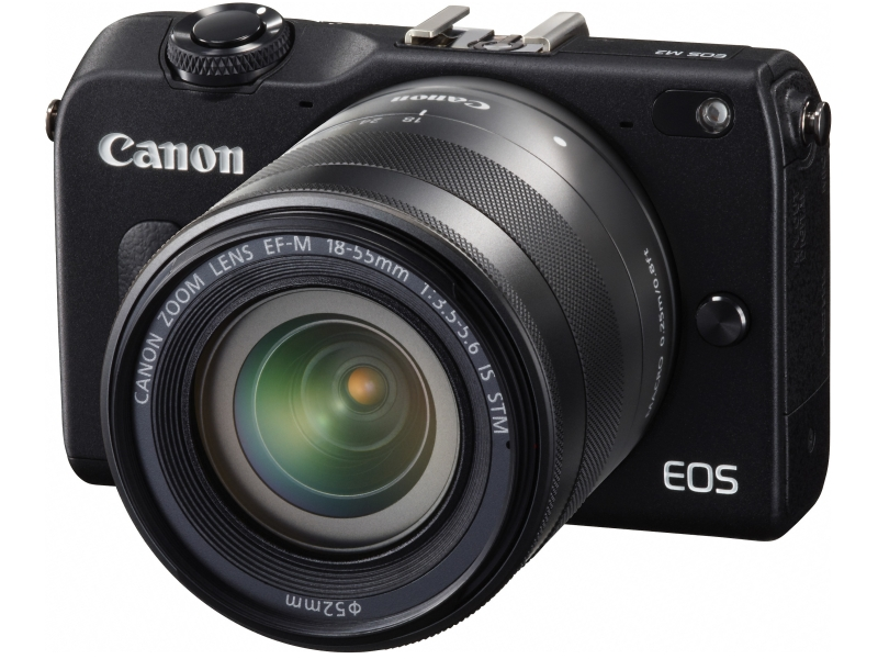 Canon EOS M2 With EF-M 18-55mm IS STM Zoom Lens
