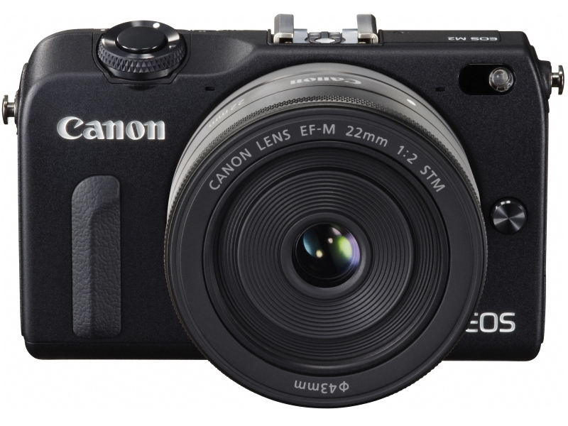 Canon EOS M2 Mirrorless Camera - Black