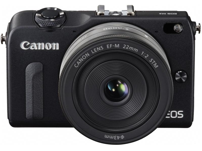 Canon EOS M2 Mirrorless Camera - Black