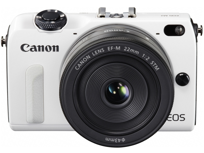 Canon EOS M2 Mirrorless Camera - White