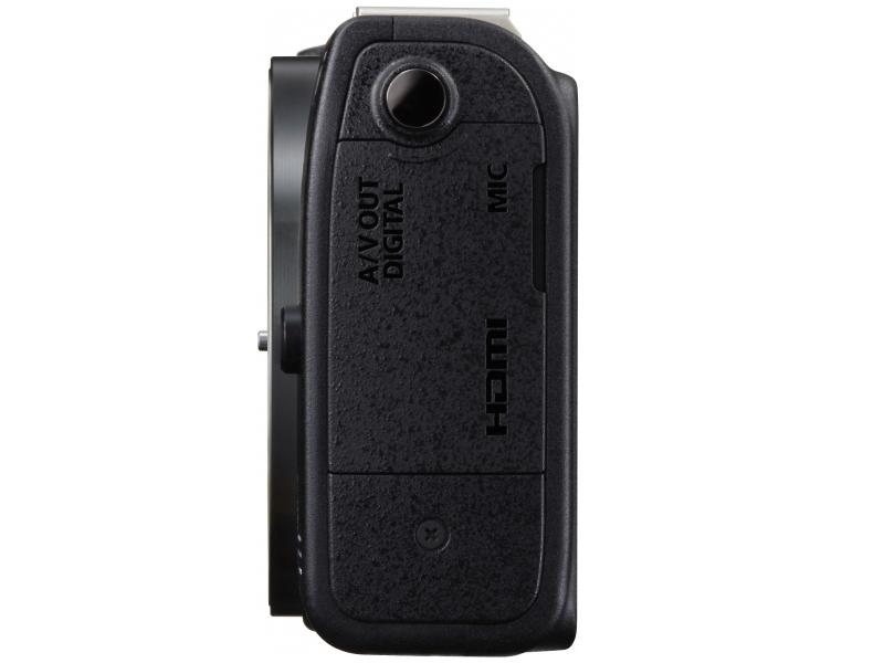 Canon EOS M2 Mirrorless Camera - Side View - Black