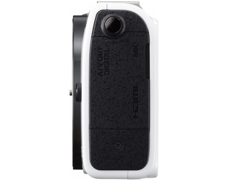 Canon EOS M2 Mirrorless Camera - Side View - White