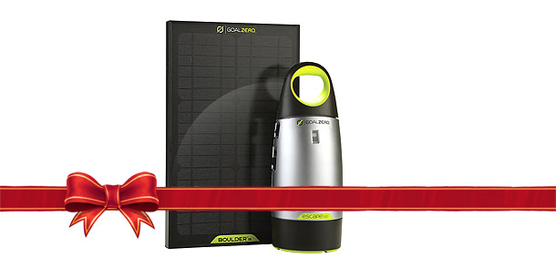 Goal Zero Portable Power - 2013 Holiday Guide
