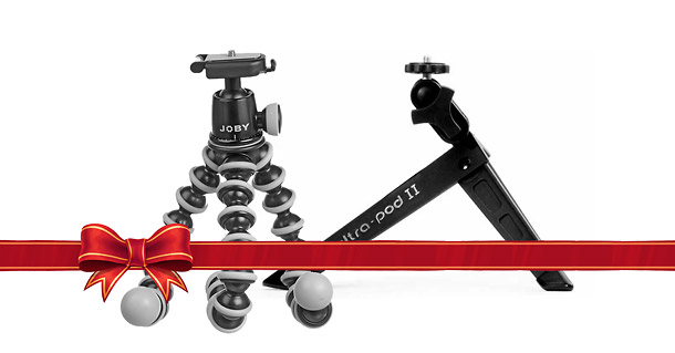 Mini Tripods - 2013 Holiday Guide