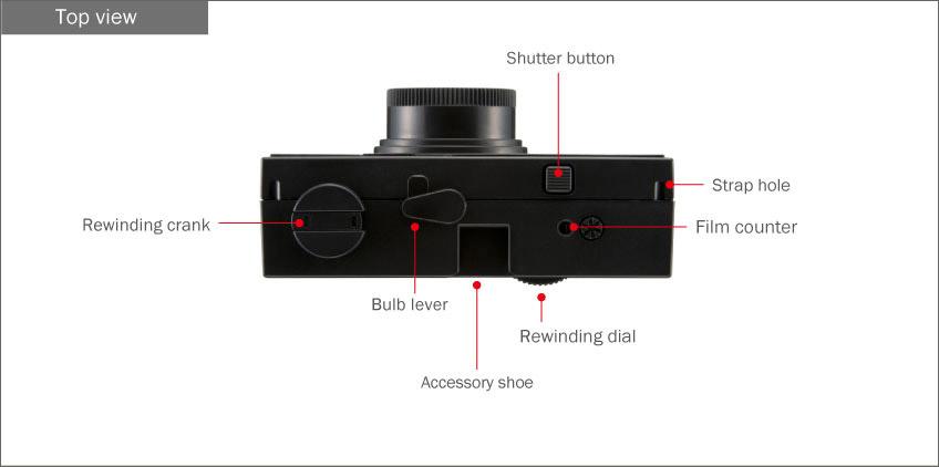 Last Camera DIY Camera - Top