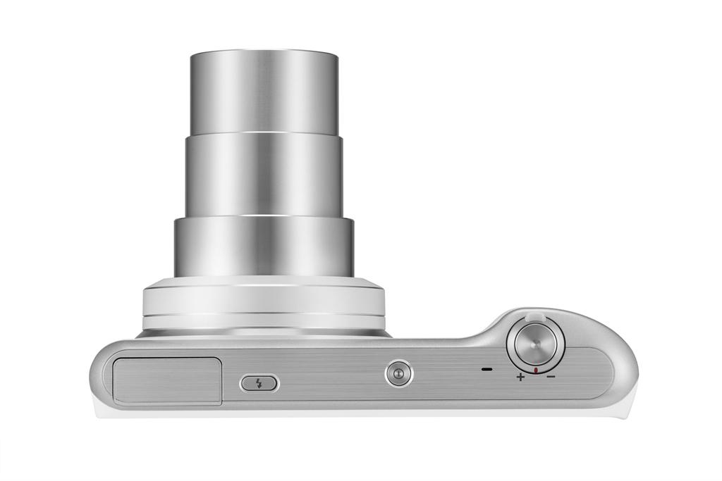 Samsung Galaxy Camera 2 With 21x Zoom - Top - Silver