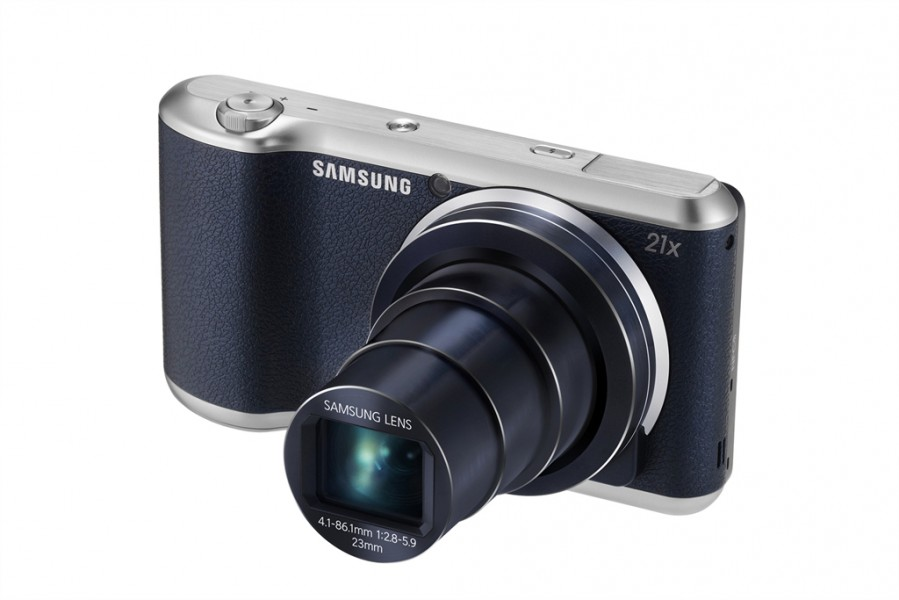 Samsung Galaxy Camera 2 Android Camera - Front Angle - Black