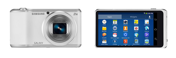Samsung Galaxy Camera 2 - Front & Back