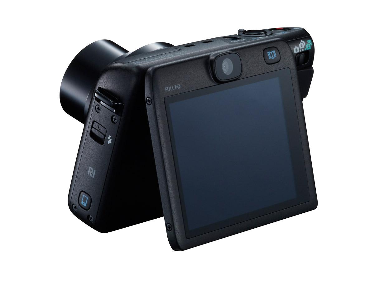 Canon PowerShot N100 - Rear