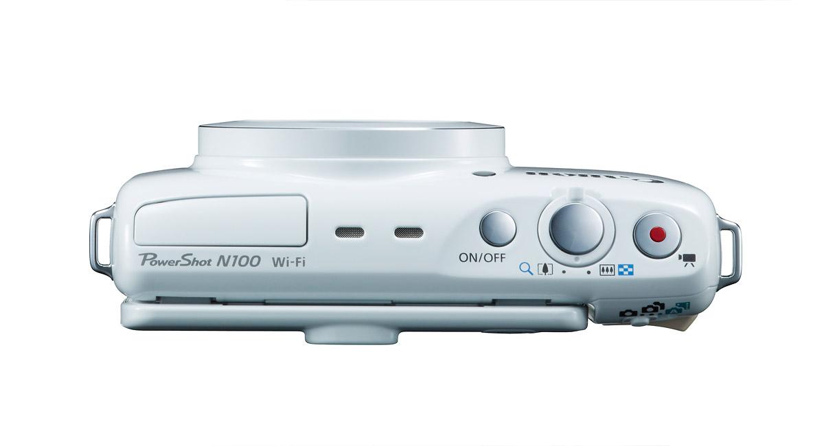 Canon PowerShot N100 - Top