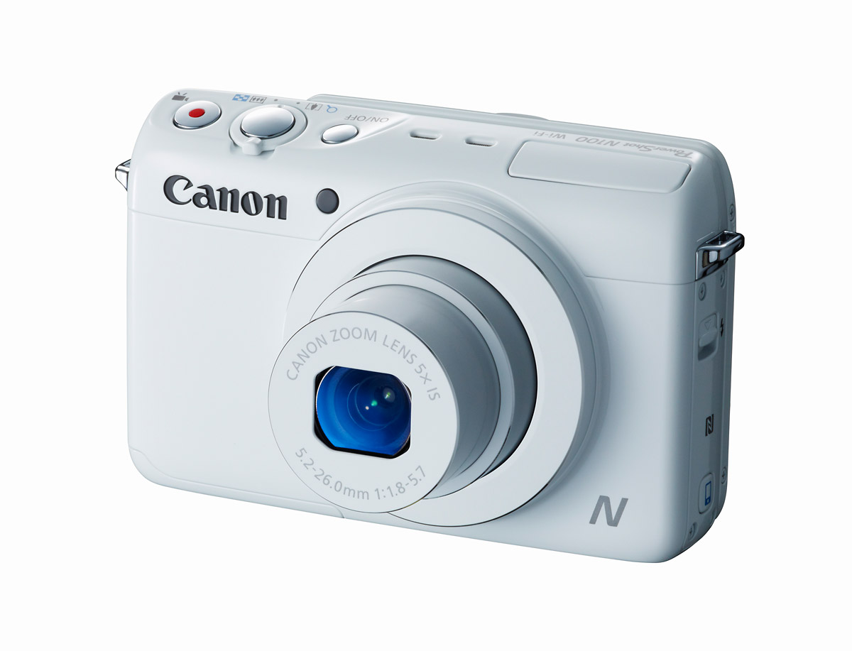 Canon PowerShot N100 - White