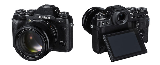 Fujifilm X-T1 Mirrorless Camera - Front & Back