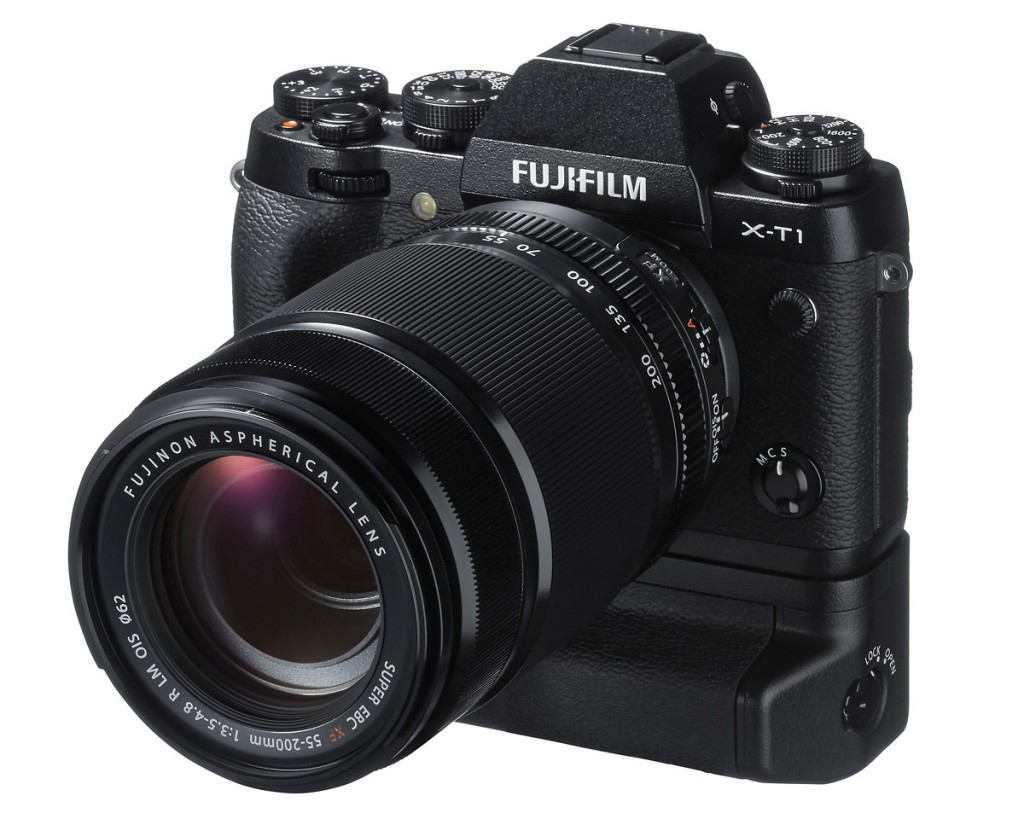 Fujifilm X-T1 With Vertical Battery Grip