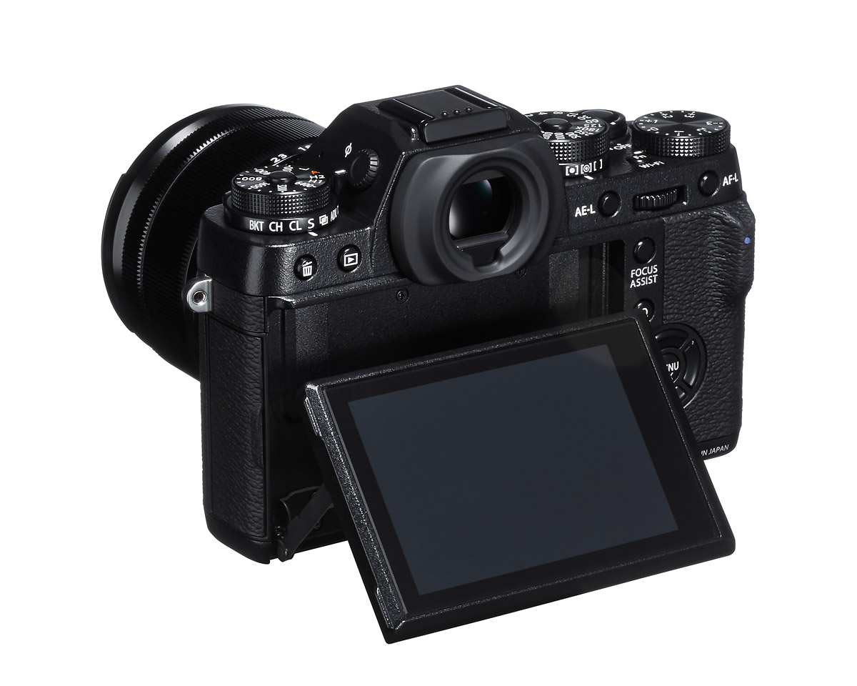 Fujifilm X-T1 Weatherproof Mirrorless Camera - Rear View