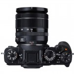 Fujifilm X-T1 Weatherproof Mirrorless Camera - Top View